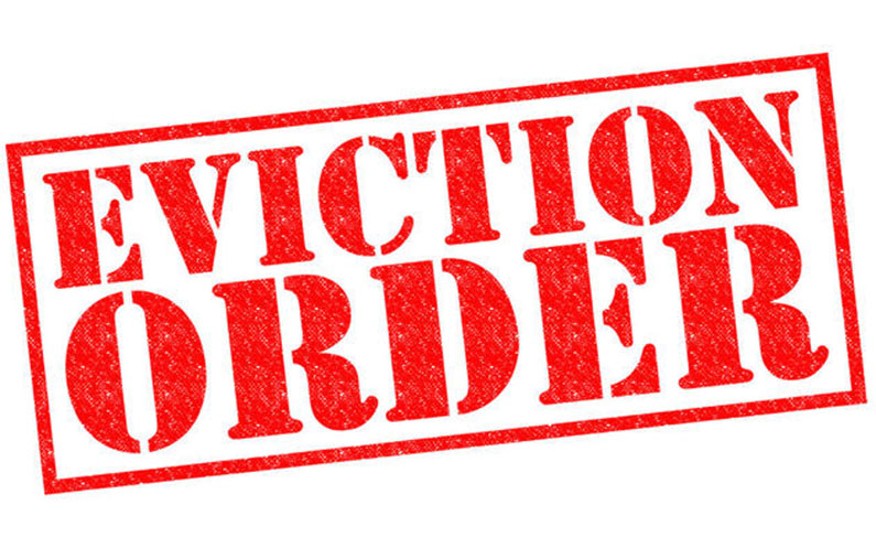 Eviction, a sad possibility