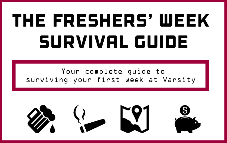 The Freshers Week Survival Guide