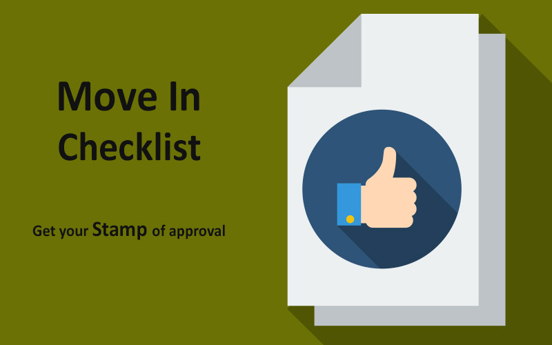 Rental Move In Checklist