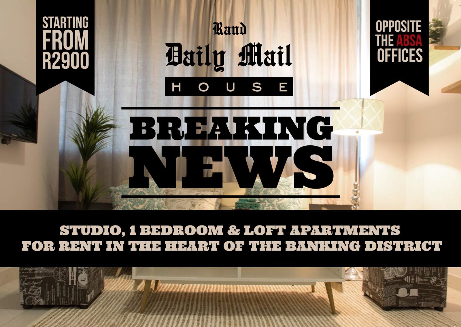 Rand Daily Mail House Mafadi Property Management Company