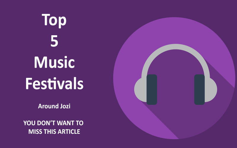 Top 5 Music Festivals around Johannesburg