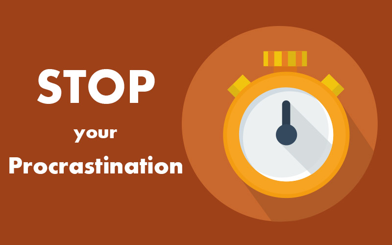 Stop your Procrastination