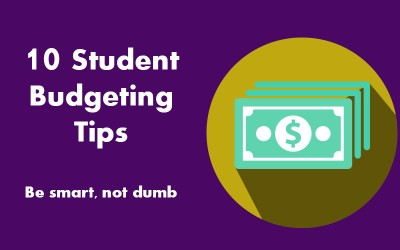 10 Student Budgeting Tips