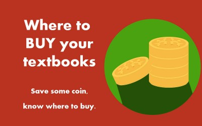 Where to buy your university textbooks