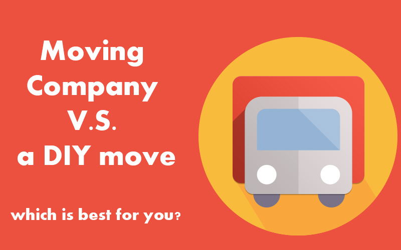 Moving Company V.S. a DIY move