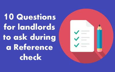 10 Landlord questions for a Reference Check
