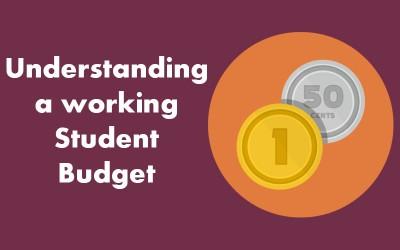 Understanding a working Student Budget