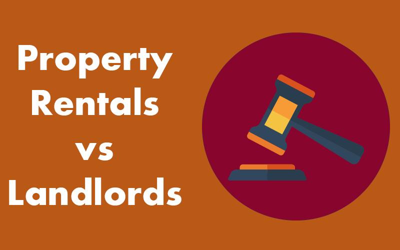 Property Management rentals vs individual landlords.